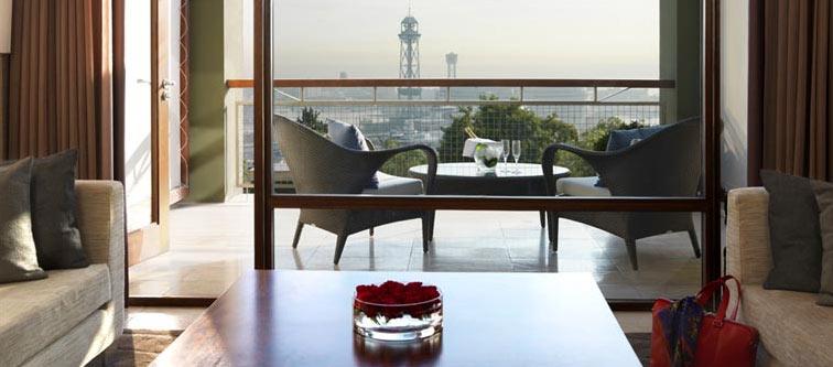 Hotel Miramar Barcelona. Detalle de suite