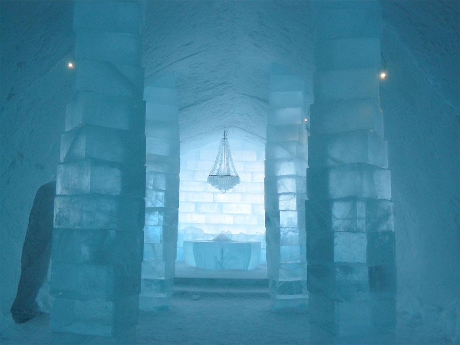 Kiruna Ice Hotel. Fotografía por Dasnake