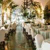 Le Sirenuse. Interior del restaurante