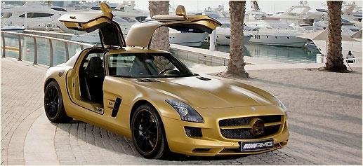 "Mercedes SLS ""Desert Gold"""