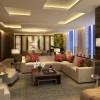 Marina Bay Sands, Straits Suite. Salón
