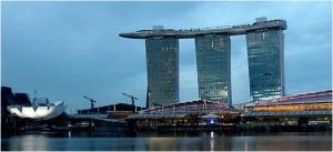 Marina bay sands el hotel m s caro del mundo for Piscina mund