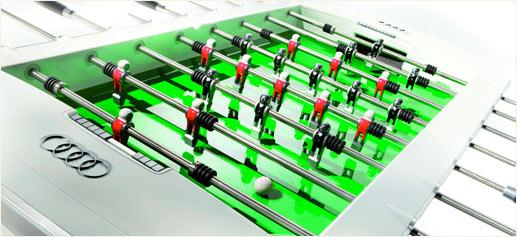 Mesa de futbolín de Audi Design