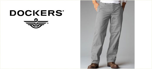 Pantalones Dockers Khakis Sibaritissimo