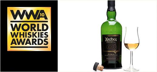 World Whiskies Awards 2010, los mejores whiskies de 2010