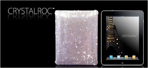 Fundas para iPad con Swarovski de CrystalRoc