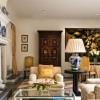 Hotel Villa Padierna, Marbella. El lujoso salón de la Villa Torre, con sus obras de arte y su chimenea