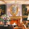 Hotel Villa Padierna, Marbella. En el Salón, los huéspedes pueden admirar la colección de obras de arte y antiguedades