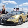 Bugatti Veyron. Gold Gumball Rally