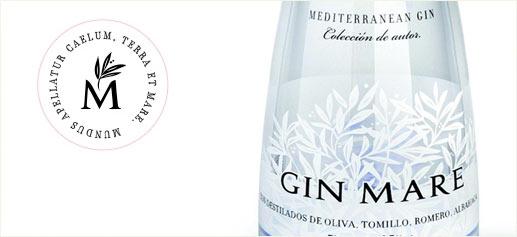 Ginebra Gin Mare, una ginebra Super Premium