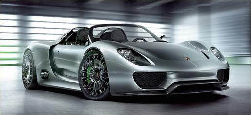 Porsche 918 Spyder Hybrid