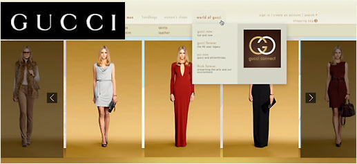 Gucci digital flagship, la tienda online de Gucci