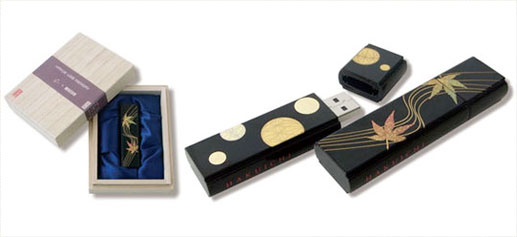 Memoria USB de Pan de oro de Hakuichi