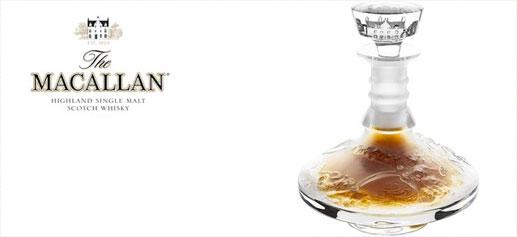 The Macallan en Lalique Cire Perdue, la botella de whisky más cara del mundo