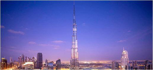 Restaurante Atmosphère, el restaurante más alto del mundo