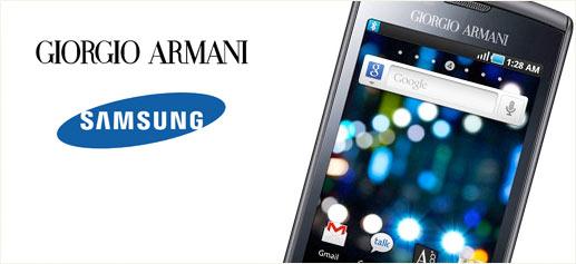 Samsung Galaxy S, versión de lujo by Giorgio Armani