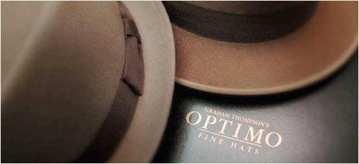 Uno de los mejores sombrereros del mundo, Optimo Hats