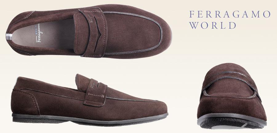 """Zapatos Salvatore Ferragamo, colección """"Ferragamo World"""""""
