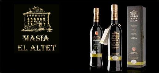 Aceite Masía EL ALTET, el mejor aceite del mundo