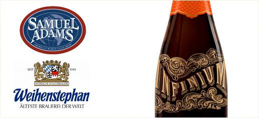Cerveza Infinium, de Samuel Adams y Weihenstephan