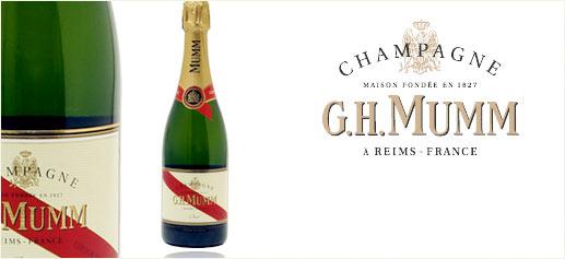 Champagnes G.H. MUMM