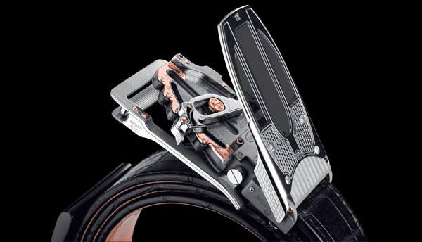 Cinturón mecánico Bugatti Edition de Roland Iten