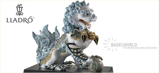 Lladró desvela sus nuevas creaciones en Baselworld 2011
