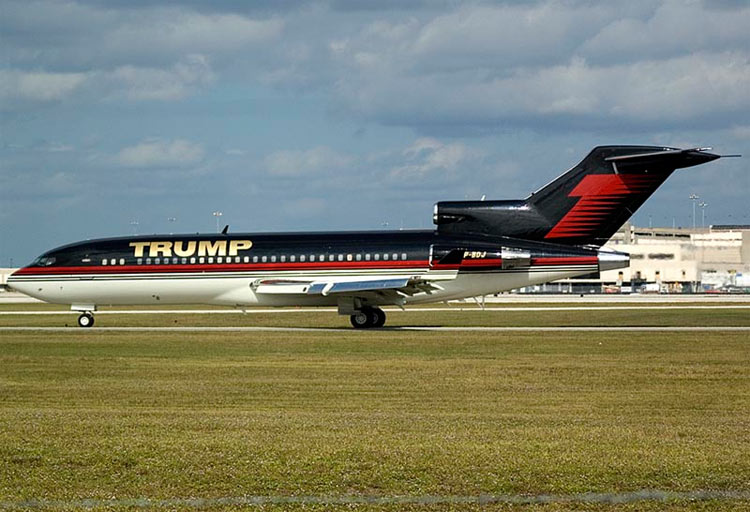 Donal Trump compra el Boeing 757 de Paul Allen