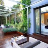Hotel ABaC de Barcelona. Detalle de la terraza de la habitación deluxe. Fotografia por Marco Pastori
