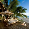 North Island Seychelles. Terraza. Fotografía por Mike Myers