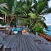 North Island Seychelles. Terraza. Fotografía por Andrew Howard