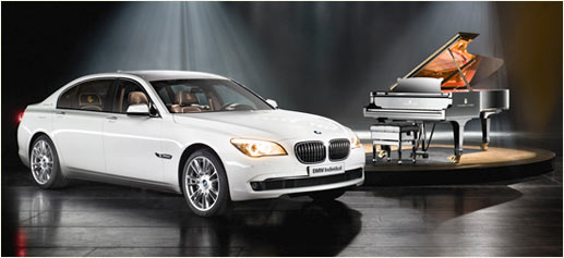BMW Serie 7 Steinway & Sons Limited Edition