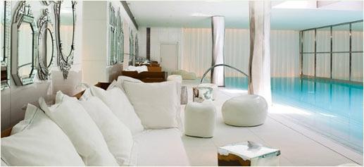 SPA My Blend de Clarins en el hotel Royal Monceau de París