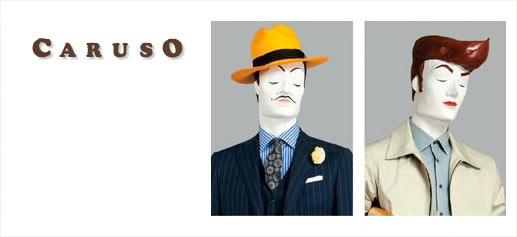 Caruso y el nuevo dandy italiano