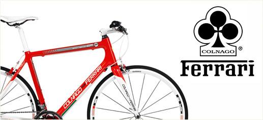 Colnago: bicicletas de lujo y potencia Ferrari