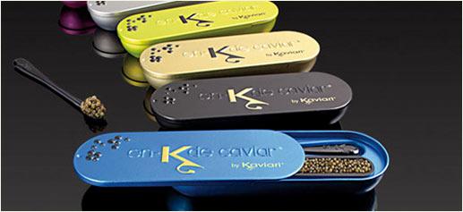 En-K de Kaviari, 15 gramos de caviar de diseño