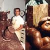Pastelería Escribá, los pasteles más caros del mundo. Monas de escaparate. Mujer Botero