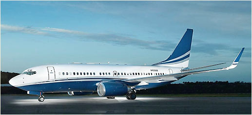 Jet privado Boeing Business Jet 2