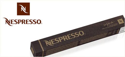 Dhjana, las nuevas cápsulas de edición limitada de Nespresso