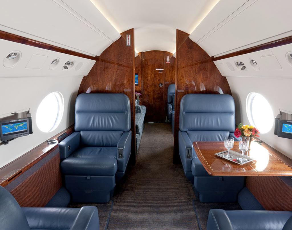 Gulfstream G550 El Jet Privado M 225 S Caro Del Mundo
