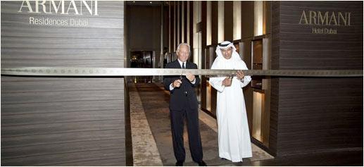 Hoteles Armani de lujo en Dubai, Milán y Rusia