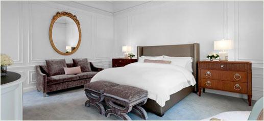 La Suite Dior del St. Regis Hotel, Nueva York