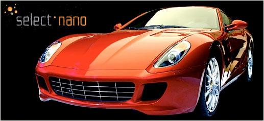 Select Nano, spa de lujo para coches en Dubai