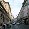 Las calles de compras de lujo más famosas del mundo. Vía Montenapoleone (Milán)