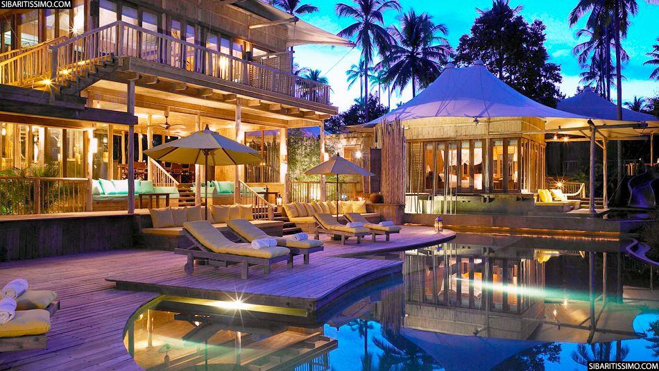 Hotel soneva kiri en tailandia for Hoteles de lujo en venecia