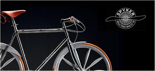 Aeroblade, la bicicleta de lujo de Spyker