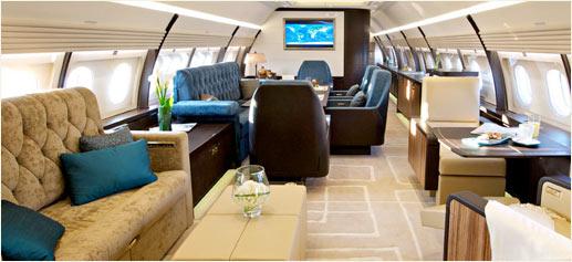 Airbus A320 Prestige. Un gran avión privado de superlujo