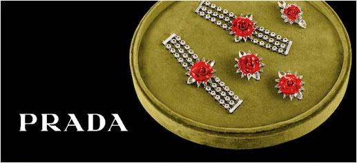 Colección cápsula de Prada joyas