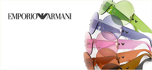 Gafas personalizables para el 30 aniversario de Emporio Armani