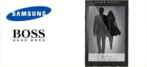 Hugo Boss viste el Samsung Galaxy Ace